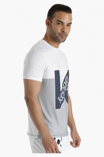 Kappa T-Shirt with Digital Print in Regular Fit