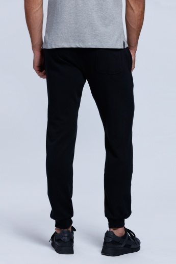 Kappa Printed Full Length Jog Pants with Snug Fitted Cuffs