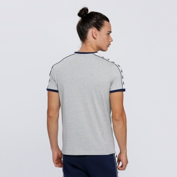 Kappa Printed Round Neck T-Shirt