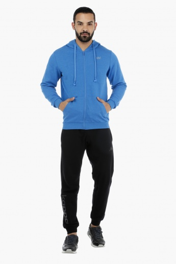 Hooded Sweatshirt with Earbuds