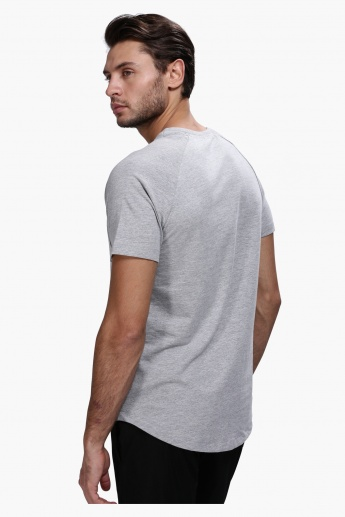 Casual Crew Neck T-Shirt with Short Sleeves