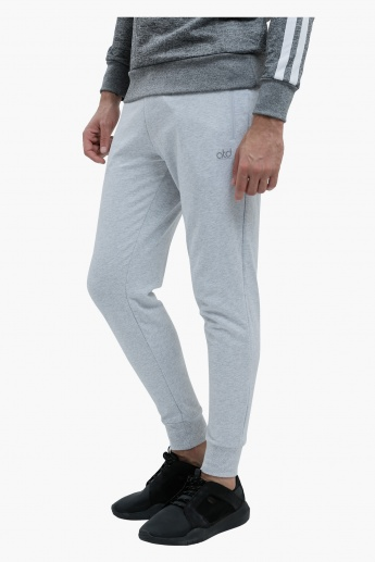 Full Length Jog Pants with Cuffs in Slim Fit