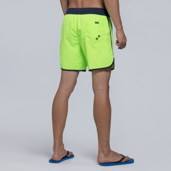 Shorts with Drawstring and Pocket Detail