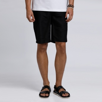 Shorts with Pocket Detail
