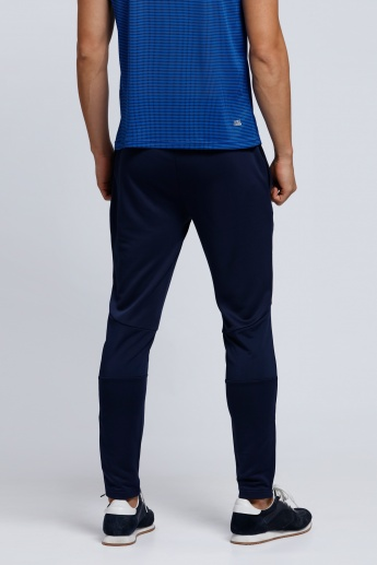 Full Length Jog Pants with Pocket and Zip Detail