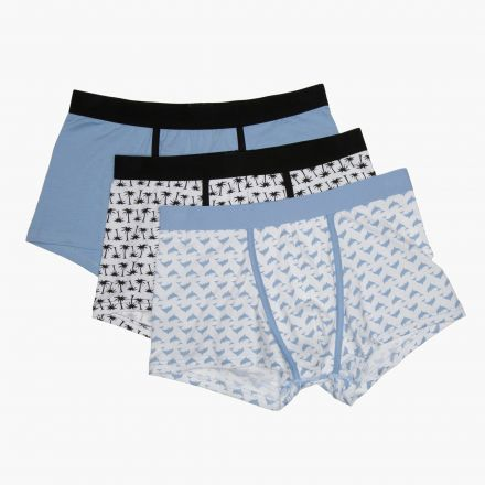 Assorted Boxer Briefs -Set of 3