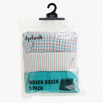 Woven Boxers - Set of 3