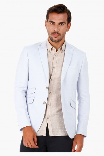 Slim-fit Blazer with Peak Lapel