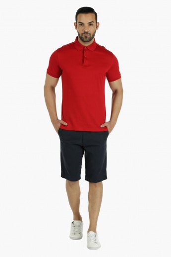 Casual Half-Length Shorts in Regular Fit
