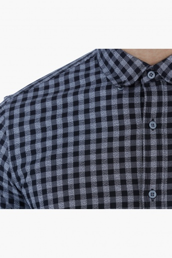 Chequered Shirt with Long Sleeves