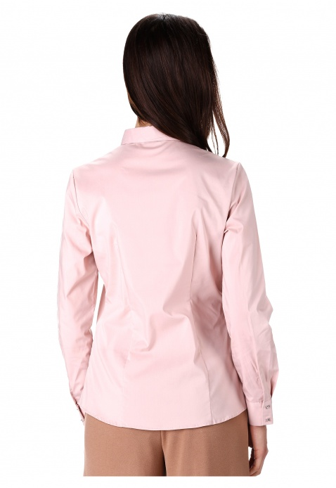 Solid Colour Bib Shirt