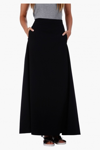 Flared Maxi Skirt in Regular Fit