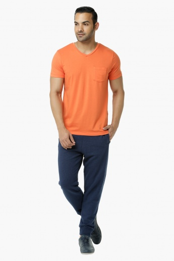 Basic Jog Pants with Pockets in Regular Fit