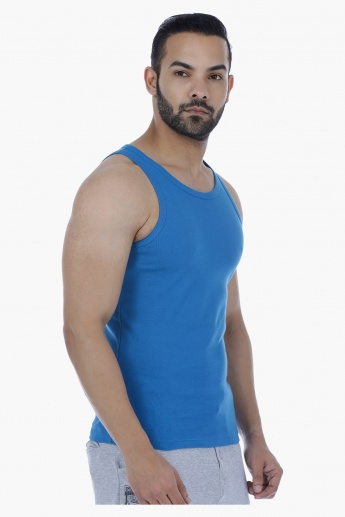 Sleeveless Ribbed Vest