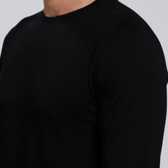 Long Sleeves T-Shirt with Round Neck