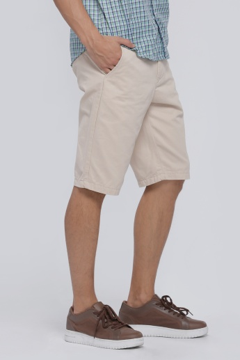 Shorts with Button Closure