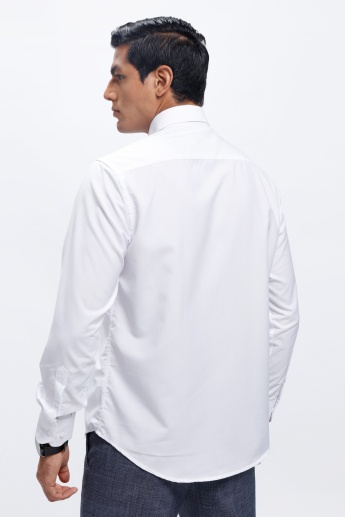 Long Sleeves Shirt with Button Placket