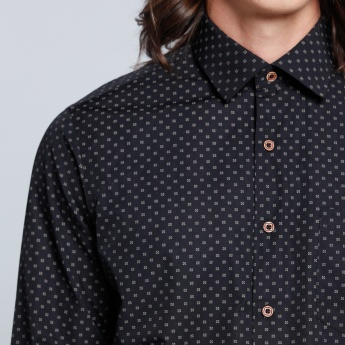 Printed Long Sleeves Shirt