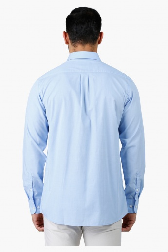 Arrow Formal Cotton Shirt with Long Sleeves in Regular Fit