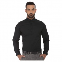 Full-sleeved Body-fit Shirt
