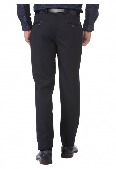 Solid Colour Suit Trouser
