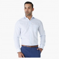 Striped Formal Shirt in Regular Fit