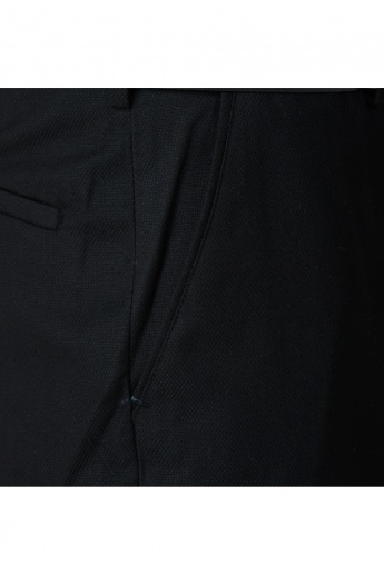 Formal Auto Flex Trousers in Regular Fit