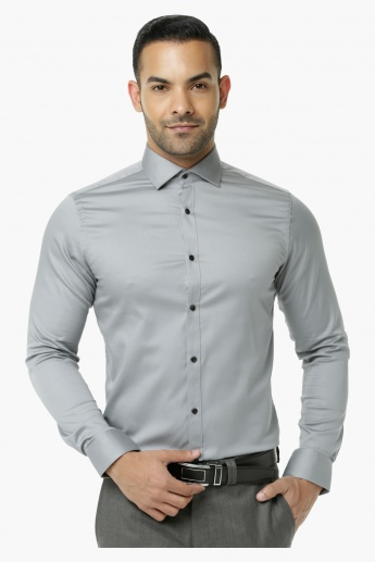 Formal Shirt with Long Sleeves in Slim Fit