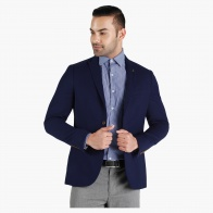 Slim Fit Textured Suit Jacket