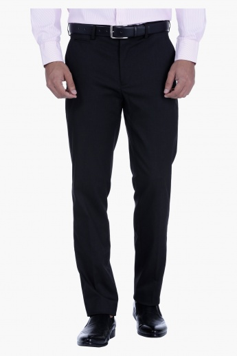 Brushed Twill Trouser in Regular Fit