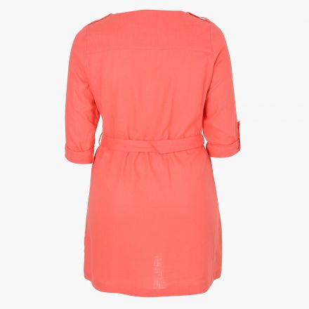 Plus Size Solid Colour Top