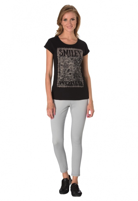 Smiley World Crew Neck T-shirt
