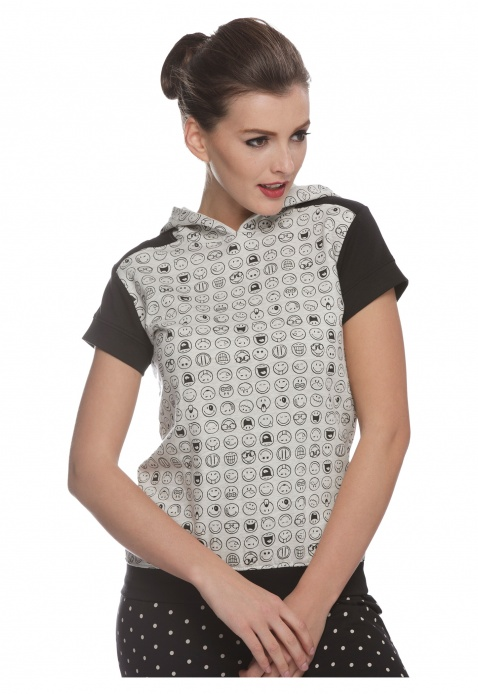 Smiley World Printed Top