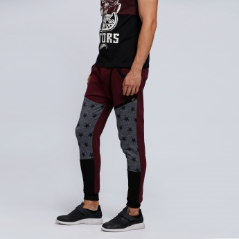 Smiley World Printed Jog Pants with Snug Fitted Cuffs
