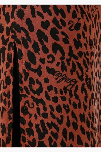 Barbie Animal Print Top with Short Sleeves