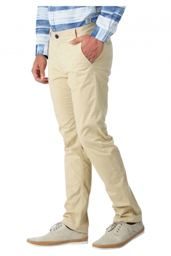 Being Human Casual Chinos in Regular Fit