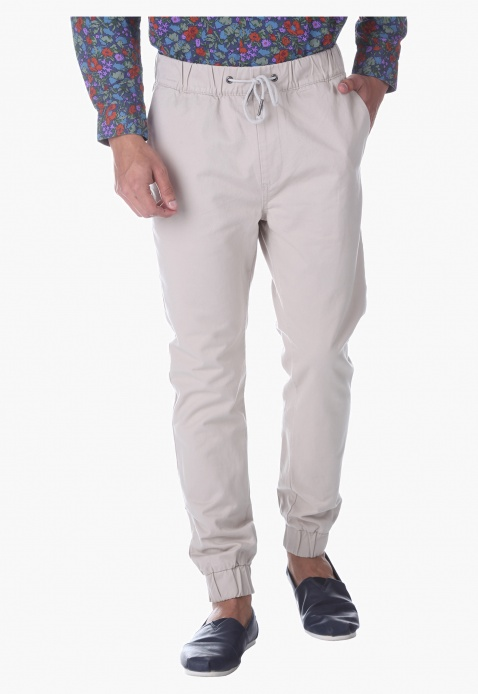 Being Human Solid Colour Pants