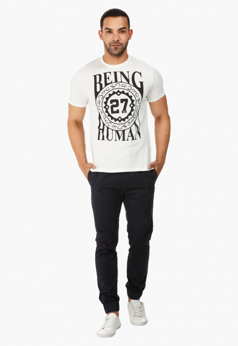 Being Human Cuffed Chinos