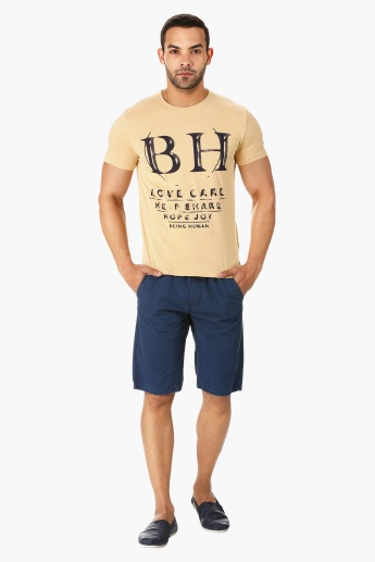Being Human Crew Neck T-shirt