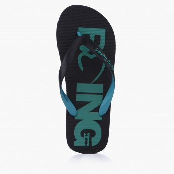 Being Human Printed Flipflops