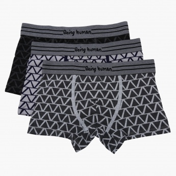 Being Human Printed Trunks - Set of 3