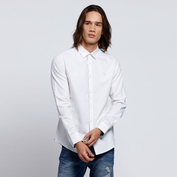 Long Sleeves Shirt with Elbow Patches