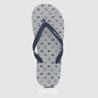 Being Human Printed Thong Slippers