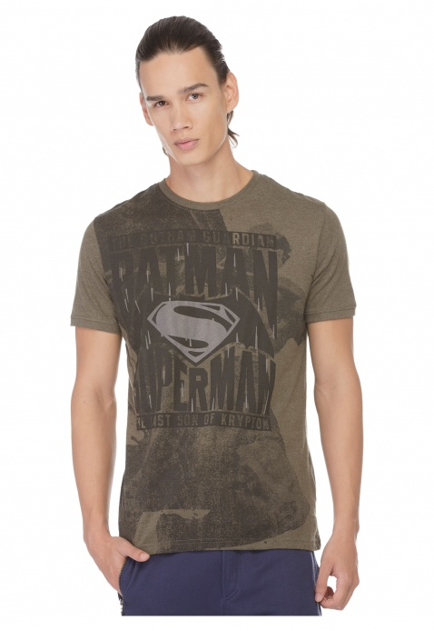 Batman v Superman Printed T-shirt
