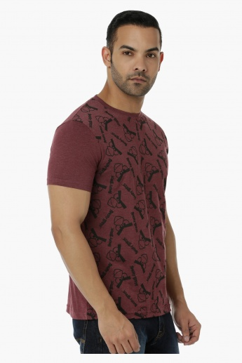 Printed T-Shirt in Regular Fit