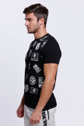 Star Wars Printed Short Sleeves T-Shirt