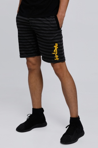 Batman Printed Shorts with Elasticised Waistband