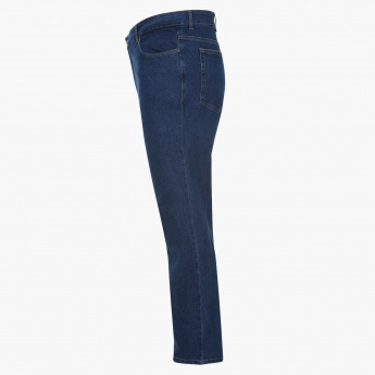 Plus Size Full Length Jeans
