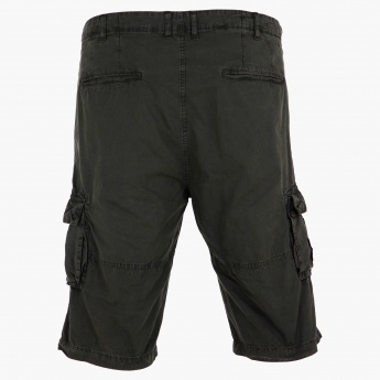 Plus Size Cargo Shorts