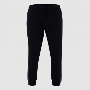 Full Length Jog Pants with Contrast Lining